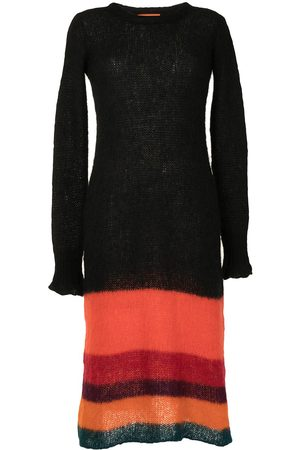 colville Striped knitted dress