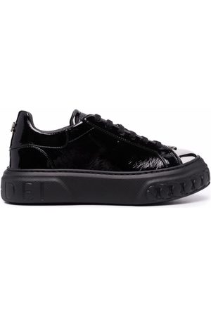 Casadei Off road New Cult leather sneakers