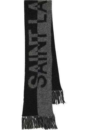 Saint Laurent Schal mit Intarsienmuster