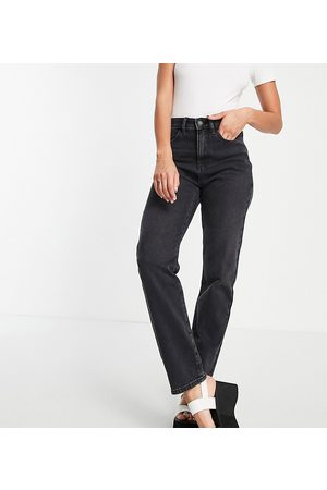 AsYou 90's straight jeans in washed black