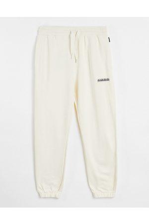 Napapijri Box joggers in off white