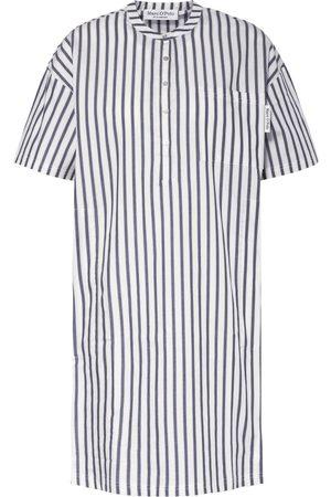 Marc O'Polo Damen Nachthemden - Nachthemd weiss