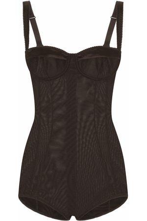 Dolce & Gabbana Damen Balconette BHs - Balconette-bra bodysuit