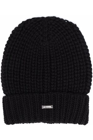 LES HOMMES KIDS Jungen Hüte - Chunky ribbed knit beanie