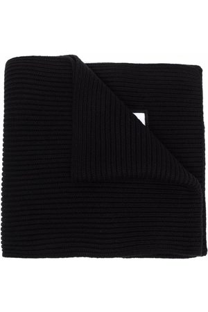 Dsquared2 Kids Schals - Ribbed-knit embroidered-logo scarf