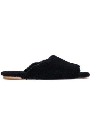 Deiji Studios Shearling slide slippers