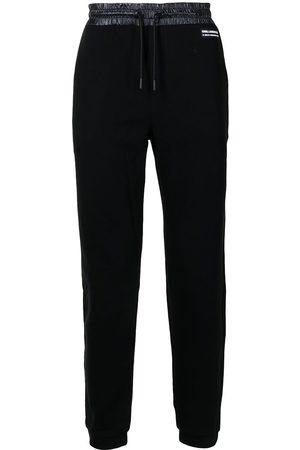 Karl Lagerfeld Logo patch track pants