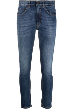 Dondup Damen High Waisted - Low-rise skinny jeans