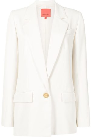 MANNING CARTELL Mixed Business single-breasted blazer