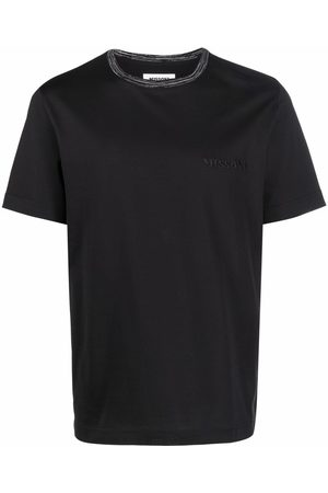 Missoni Embroidered-logo short-sleeve top