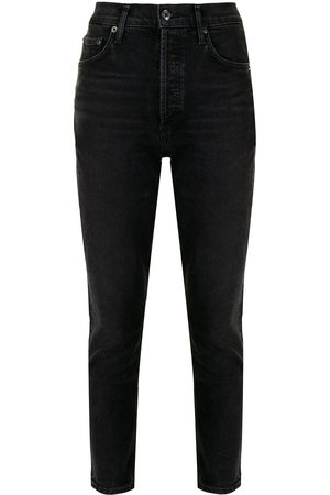 AGOLDE Skinny-fit mid-rise denim jeans