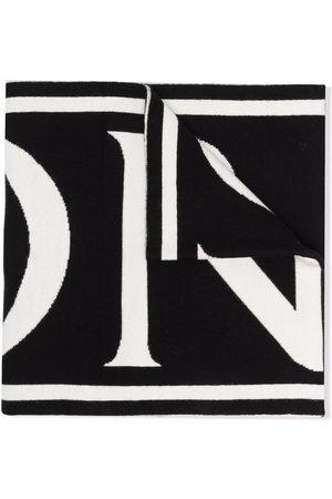 Moncler Enfant Mädchen Schals - Logo lettering scarf
