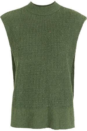 Osklen Damen Westen - E-Colors knitted waistcoat