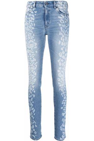 Just Cavalli Leopard-print skinny jeans