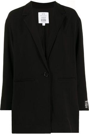 Armani Exchange Logo-patch blazer
