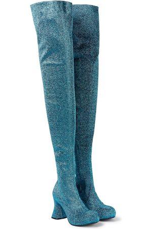Stella McCartney Stiefel Groove aus Lurex®
