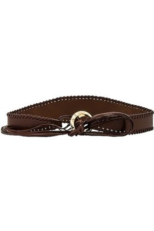 Ettika Second Rodeo Belt in - Chocolate. Size all.
