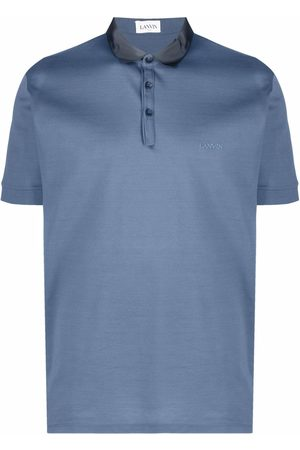 Lanvin Logo-embroidered polo shirt