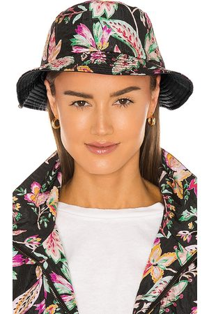Isabel Marant Haley Reversible Hat in - Black. Size 56 (also in 57, 58).