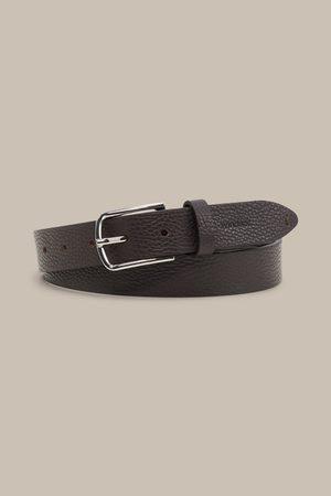 Windsor Herren Gürtel - Schmaler Ledergürtel in