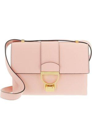 Coccinelle Satchel Bags Arlettis Handbag Grainy Leather - in pink - Henkeltasche für Damen