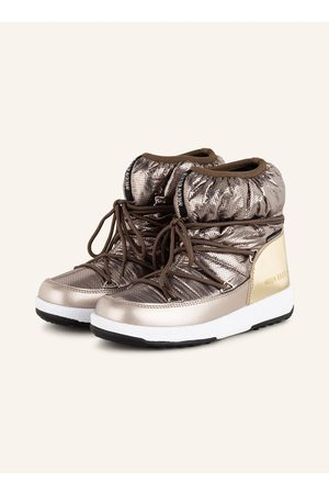 moon boot S Nylon Premium Wp silber