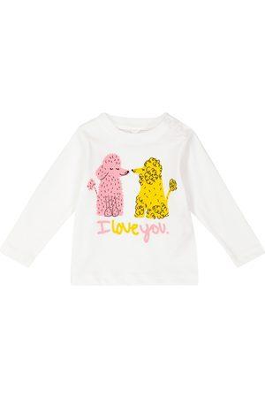 Stella McCartney Baby Bedrucktes Longsleeve aus Baumwolle