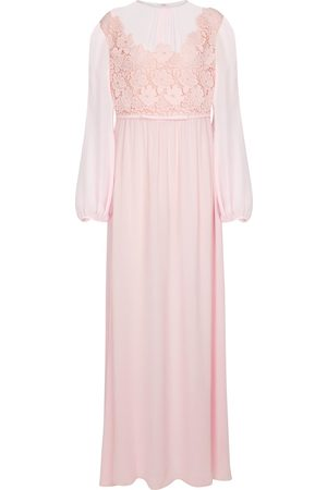 Giambattista Valli Floral silk georgette maxi dress
