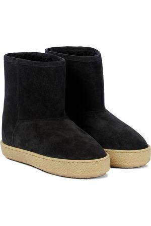 Isabel Marant Ankle Boots Frieze aus Veloursleder