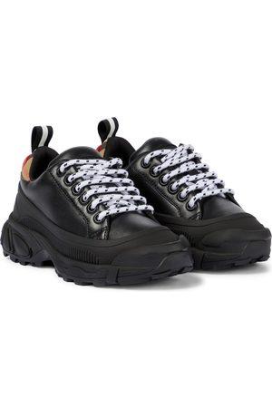 Burberry Sneakers aus Leder