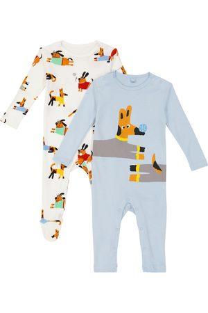 Stella McCartney Outfit Sets - Baby Set aus zwei Stramplern aus Baumwolle