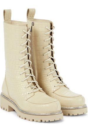 RENE CAOVILLA Ankle Boots aus Leder