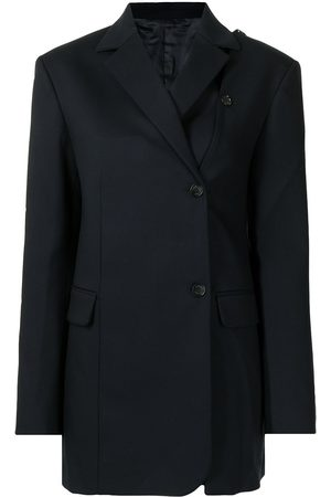Rokh Damen Blazer & Sakkos - Off-centre buttoned blazer