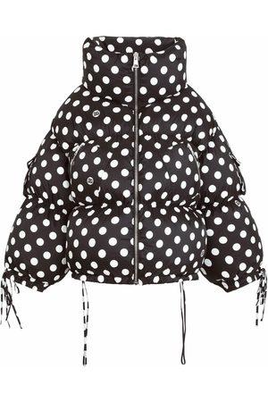 Dolce & Gabbana Polkda dot puffer coat