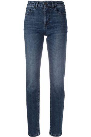 Karl Lagerfeld Damen High Waisted - High-rise skinny-cut jeans