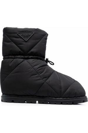 Prada Re-Nylon padded boots