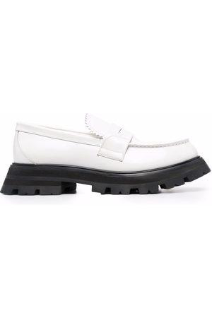 Alexander McQueen Damen Halbschuhe - Wander leather loafers