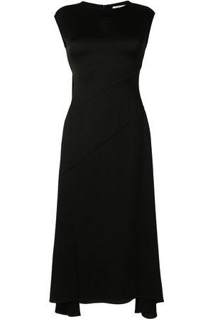 Anna Quan Damen Asymmetrische Kleider - Vera asymmetric-hem midi dress
