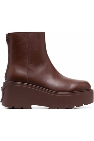 Pinko Love Birds chunky ankle boots