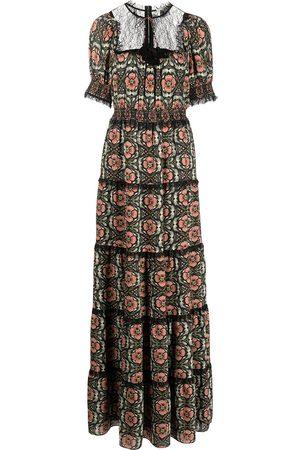 ALICE+OLIVIA Lynley floral maxi dress