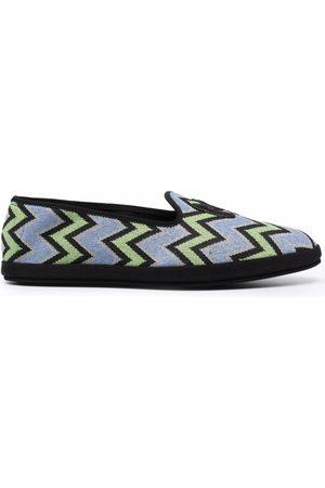 M Missoni Damen Halbschuhe - M zig-zag slippers
