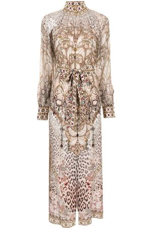 Camilla Long animal-print dress