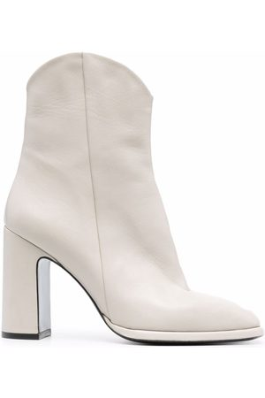 Pinko Western-style leather boots