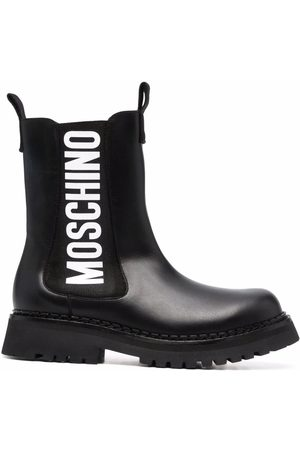 Moschino Logo-print ankle boots