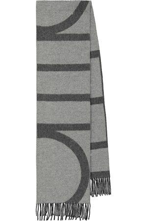 Totême Gestreifter Schal aus Wolle