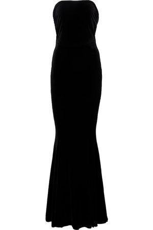 Norma Kamali Off-Shoulder-Robe