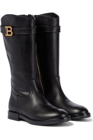 Balmain Stiefel aus Leder