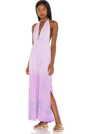 Tiare Hawaii Marilyn Maxi Dress in - Lavender. Size M/L (also in S/M).
