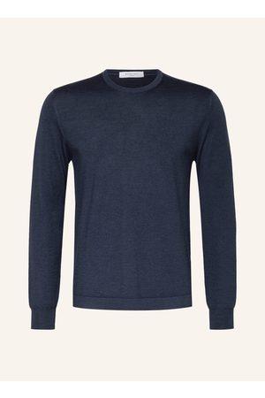 BOGLIOLI Pullover Mit Seide blau