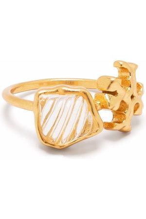 Tory Burch Roxanne Double T-motif ring